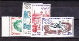 1964-Mali-Mi: 86-89 (**) - Malí (1959-...)