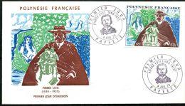 Polynesie 1er Jours PA N 76 - Polynésie Française