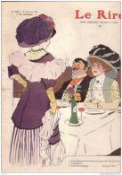 REVUE LE RIRE - NOVEMBRE 1907 - N° 249 - FOLIES BERGERES - MLLE FEUILLE - ILLUSTREE PAR WELY , DELAW , ETC ... - Livres, BD, Revues