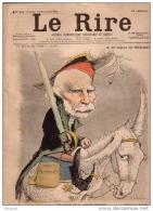 REVUE LE RIRE - NOVEMBRE 1899 - N° 211 - M. SAULCE DE FREYCINET - PHOTO - VINCI - ILLUSTREE PAR LEANDRE , METIVET , ETC - Livres, BD, Revues