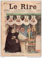 REVUE LE RIRE - JUIN 1899 - N° 239 - BOUCHER - ILLUSTREE PAR FAIVRE , GUYDO , ETC ... - PEINTURE - Livres, BD, Revues