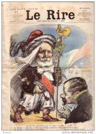 REVUE LE RIRE - AVRIL 1903 - N° 11 - RECEPTION EMILE LOUBET A ALGER - ILLUSTREE PAR LEANDRE , BURRET , ETC ... - Livres, BD, Revues
