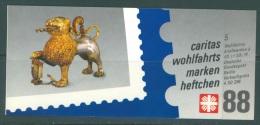 BERLIN - PRIVATE MARKENHEFTCHEN - USED/OBLIT. - CARITAS WOHLFAHRTS 1988  - Mi 5 X 819 - Lot 8081 - [5] Berlín