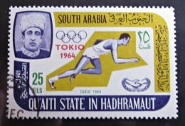 Briefmarke SOUTH ARABIA KATHIRI STATE IN HADHRAMAUT Sport - Summer 1964: Tokyo
