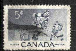 Canada 1956, Hockey Su Ghiaccio (o), Difetto Angolo Sup. Dx - Hockey (su Ghiaccio)
