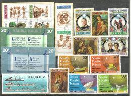 ILE NAURU. (Ocean Pacifique) 21 Beaux Timbres Oblitérés En Series Complètes, Cote 22,00 € - Nauru