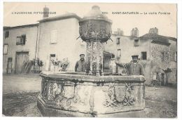 SAINT-SATURNIN (Puy-de-Dome) - La Vieille Fontaine - Coll. L´Auvergne Pittoresque N°1810 - France