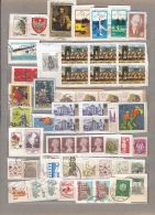 WORLDWIDE MONDE WELT Used Obliteres Gestempelt (o) Modern Stamps On Paper #16727 - Timbres