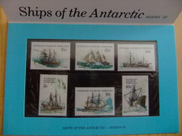 AUTRALIA  - AUSTRALIAN ANTARCTIC TERRITORY   1981 - SHIPS OF THE ANTARCTIC  Yvert Nº 47 / 752 ** - Australian Antarctic Territory (AAT)