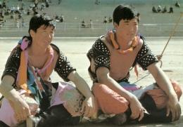 MONGOLIAN WRESTLERS - China