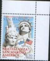 San Marino 2008 30 Anni Fratellanza San Marino America 1v Complete Set ** MNH - Unused Stamps