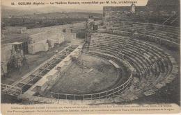 ALGERIE  - GUELMA -  LE THEATRE ROMAIN RECONSTITUE PAR MR JOLY ARCHITECTE - Guelma
