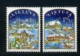 Lituanie** N° 723/724  - Noël - Litauen