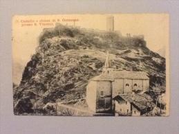 S. VINCENT CASTELLO E CHIESA DI S.GERMANO DEL 1914 OTTIMO STATO - Italien