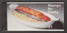 Great Britain Prestige Stamp Booklet: 1969 Stamps For Cooks UK14605 - Booklets