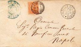 1885  LETTERA CON ANNULLO CIVITELLA DEL TRONTO TERAMO - 1878-00 Umberto I