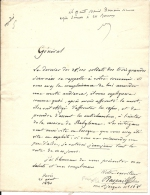 RASPAIL FRANCOIS . DERNIER DES 25000 SOLDATS ... - Autographes