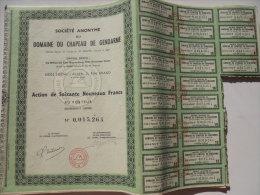 Lot De 23 Actions Domaine Du Chapeau De Gendarme à Alger - Afrique