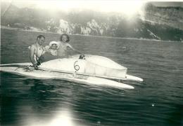 Photos - Originales >   Pédalo   Dans Les Années 50 - Bateaux