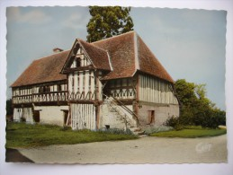 14 : Crevecoeur - Le Prieuré - Manoir Normand - Colorisée - CPSM GF - Autres Communes