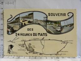 CPSM (72) Sarthe - Souvenir Des 24 Heures Du Mans - 1966 - Le Mans