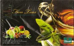 Ceylon Tea - Dilmah Fun Tea Celebrations - Ten Individually Teabags Of Each Of 8 Flavours - Other