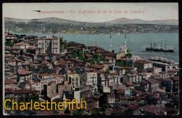 TURQUIE / CONSTANTINOPLE / VUE DI SCUTARI ET DE LA TOUR DE LEANDRE - Turquie