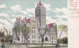 Kansas Topeka Stowner County Court House 1908