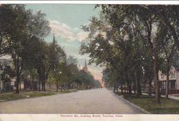 Kansas Topeka Harrison Street Looking North