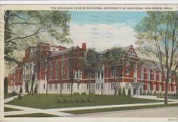Michigan Ann Arbor The Michigan League Building University Of Mi