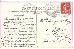 TARN ET GARONNE - Cachet  D' ORGUEIL - Marcophilie (Lettres)