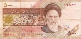 BILLETE DE IRAN DE 5000 RIALS    (BANKNOTE) - Iran