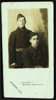 """A C1910  Photo (not A Postcard),  Portrait Of Two Unknown Soldiers  By  """"Brown, Weston Super Mare"""". - Personajes"""
