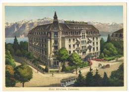 LAUSANNE - Hotel Mirabeau - VD Vaud
