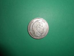 PIECES 5 FRANCS ARGENT LOUIS PHILIPPE 1838A - France