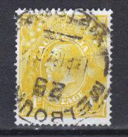 N° 27 A  (1914) Filigrane 3 - Usati