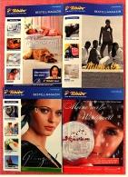 4 X Tchibo Reklame Prospekte Von 2006 / 2007 - Ca. 270 Seiten - Bestellmagazin - Jede Woche Eine Neue Welt - Reklame