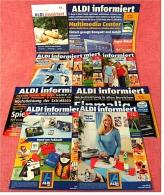 9 X ALDI Informiert Reklame Prospekte Von 2006 -  Insgesammt  Ca. 140 Seiten - Reklame