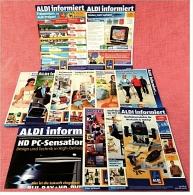 12 X ALDI Informiert Reklame Prospekte Von 2007 / 2008 -  Insgesammt  Ca. 300 Seiten - Reklame