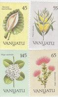 Vanuatu-1990 Flora 515-518 MNH - Vanuatu (1980-...)