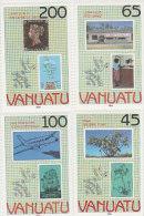 Vanuatu-1990 London 90 Stamp World Expo 519-522 MNH - Vanuatu (1980-...)