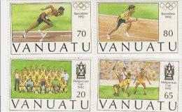 Vanuatu-1992 Melanesian Cup 569-572 MNH - Vanuatu (1980-...)