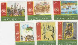 Vanuatu-1995 Anniversaries 658-663 MNH - Vanuatu (1980-...)