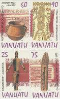 Vanuatu-1995 Artifacts 668a-d MNH - Vanuatu (1980-...)