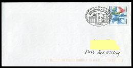 71181) BRD - Ganzsache Michel USo 12 A I - SoST 12103 BERLIN ZENTRUM Vom 1.3.2002  - Bundespräsidentenflug Helgoland - BRD