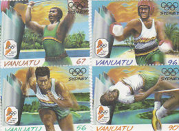 Vanuatu-2000 Sydney Olympic Games 766-771 MNH - Vanuatu (1980-...)