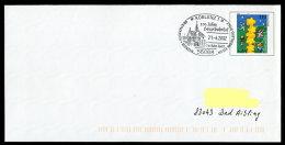 71189) BRD - Ganzsache Michel USo 21 A I - SoST 56068 KOBLENZ 1 Vom 21.4.2002  - 100 Jahre Hauptbahnhof - BRD