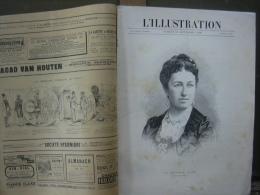 L'ILLUSTRATION 2481 CASAMANCE/ CHUTE BALLON/ DUCHESSE D'UZES  13 Septembre 1890 - 1850 - 1899