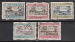 Liberia  Scott No 209-13  Used    Year 1923 - Liberia