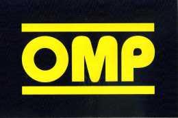 X Adesivo Stiker Etiqueta OMP CM. 11 X 17 - Non Classificati